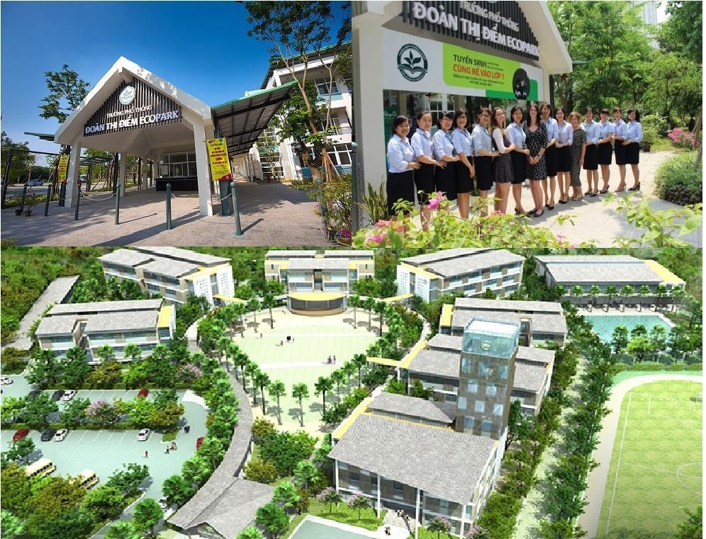Công trình: Trường tiểu học, THCS, PTTH Ecopark Đoàn Thị Điểm