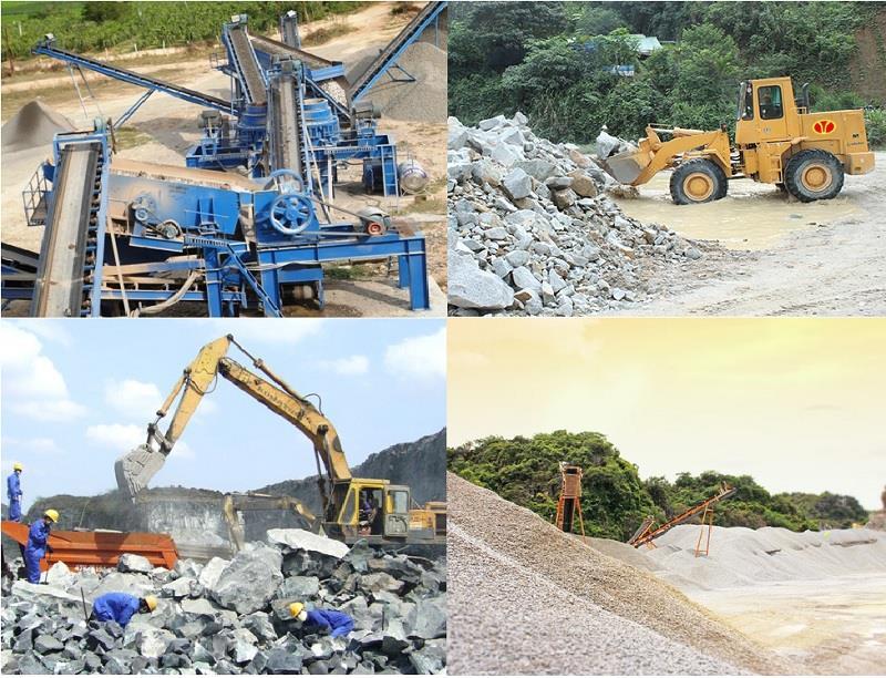 Đầu tư khai thác và chế biến đá vôi làm vật liệu xây dựng thông thường