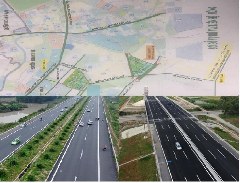 Tuyến đường Liên Ninh - Đại Áng - Tả Thanh Oai