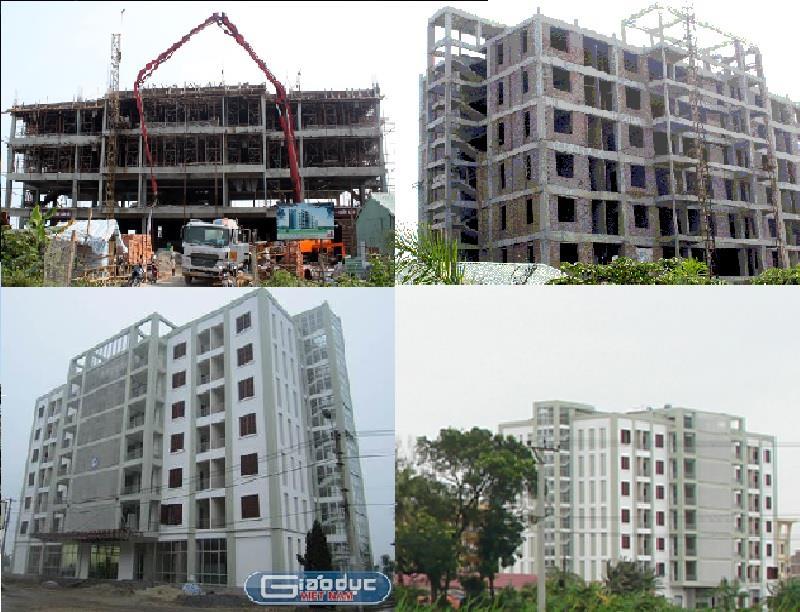 Xây dựng Nhà C3 Ký túc xá sinh viên Trường ĐH Nông Nghiệp Hà Nội